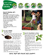 Natural Yard Care brochure cover